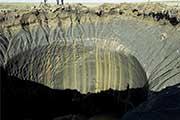 俄罗斯发现4个巨大洞穴