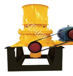 上海石料生产设备-单缸液压圆锥破碎机