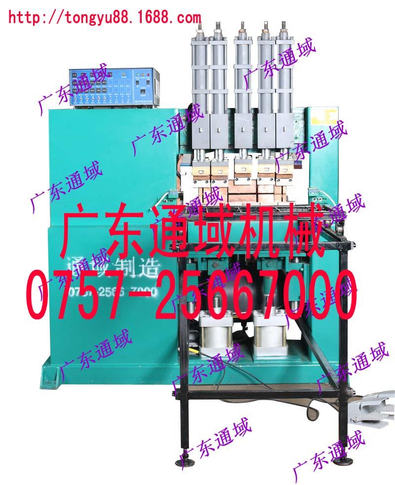 供应广东通域数控护栏网排焊机 钢筋网片排焊机