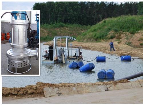 搅拌式潜水吸沙泵-耐磨材质