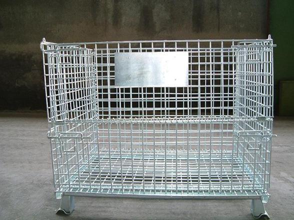 仓储笼,货架仓储笼,折叠式仓储笼,节省场地人力