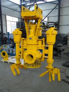 液压驱动型排沙泵、挖机配套泥沙泵 带独立搅拌器