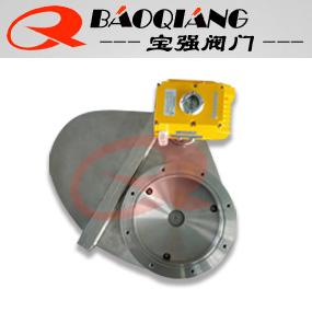 宝强牌GCDb摆动式电于阳杰对身边动高真空插板阀