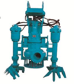 液压驱动泥浆泵 挖掘机砂浆泵 潜水清淤泵