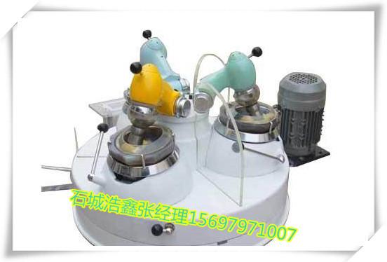 浩鑫供应实验设备 XPM三头研磨机 小型振动研磨机 实验专业研磨设备