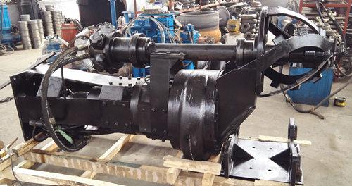 挖掘机配套液压渣浆泵--首选淄博瑞昱泵业