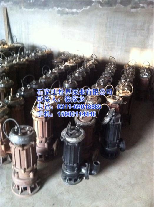 150QW130-30-22无堵塞潜水排污泵