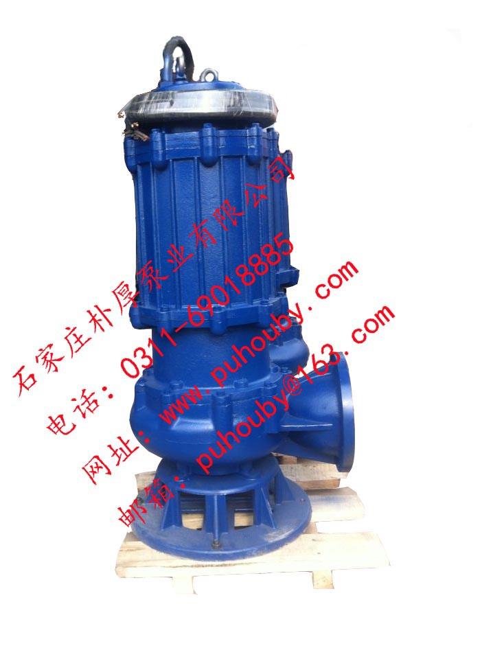 200QW400-30-55无堵塞潜水排污泵