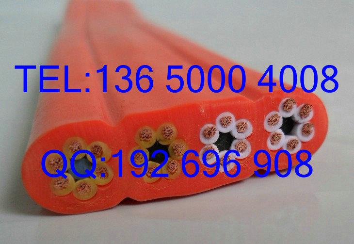 扁平电缆线 天车扁电缆 数控设备高柔扁电缆12芯*1mm2平方