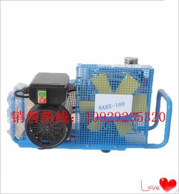 NABX100空气呼吸器充气泵  矿用空气呼吸器充气泵  厂家直销呼吸器充气泵
