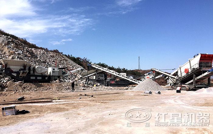 这条江苏年产百万吨石料生产线势不可挡T2