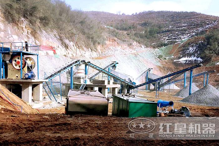 天然砂石紧缺,大型碎石生产线设备厂家提供方案T5