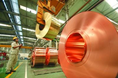 中国4月十种有色金属产量同比增长1.7%