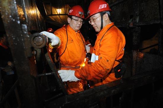 山西晋城一煤矿发生透水事故 12人被困
